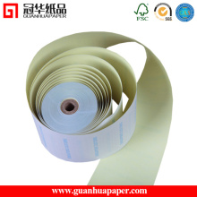 76mm Width 2 Ply Carbonless Print Paper Roll
