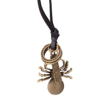 Tieranhänger Halskette Vintage Schmuck