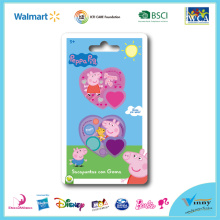 Peppa Pig 2 Piece Sharpener with Eraser