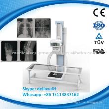 MSLDR04-A Équipement pour hôpitaux DR numérique 30kw mobile 200ma 300ma machine à rayons X avec panneau plat portatif