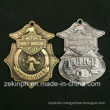 Products Custom Police Zinc Alloy Metal Brass Medal for Sales