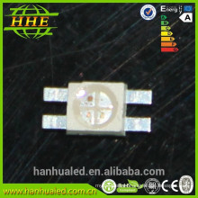 SMD 6028 Smd Led RGB color ODM Producto led emisor RGB tricolor para luces traseras LED