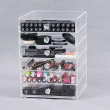 La mejor caja de belleza para almacenamiento de maquillaje acrílico