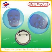Tin Lapel Pin impresión Tinplate insignia