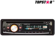 Un reproductor de DVD fijo del coche del panel fijo Ts-6007f