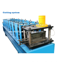 YTSING-YD-4370 Pass CE & ISO Automatic Steel L U Purlin Roll Forming Machines