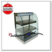 Gebogenes Glas-Erwärmungs-Schaukasten K610 mit Heizungs-Glas