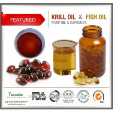 Healthy supply Enteric Coated Softgel Capsules Antarctic krill oil