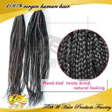 Бразильские расширения Реми волос микро оплетка дешевые х-давление косу волос оптом