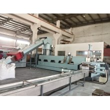 Two Stage Single Screw Granulating Extruder for PP Raffia Pelletizing