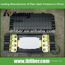4 em 4 fora 96 cores Fechamento de emenda de fibra óptica inline / horizontal