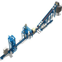 Transportador de cadena de papel usado