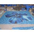 Blue Color Divers Utilisation de la piscine Mosaïque en verre Mélange, mosaïque de verre pour piscines, façades extérieures, revêtements de sol