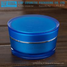 YJ-R100 100g do atarraxamento redonda high-end luxo atraente 100g acrílico jar