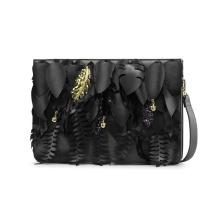 Уникальный листовой элемент сцепления Сумка PU плеча сумочку Wzx1026