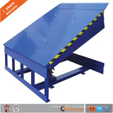 Aprobado por el CE Nivelador de muelle hidráulico estacionario utilizado para el almacén de contenedores Nivelador de muelle hidráulico de almacén