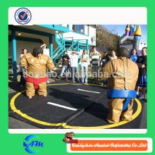 Vente en gros bon marché gonflable sumo costume défi / sumo gonflable