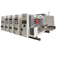 Rotary die cutting machine for corrugated box high speed manufacture