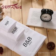Golden fournisseur hôtel luxe serviette de bain coton personnalisé serviette de bain