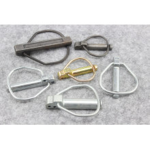 Yellow Zinc Plated safety Ring Lock Pin Linch Lynch Pins