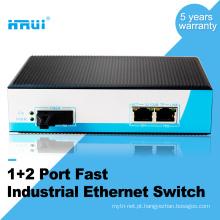 Interruptor ethernet industrial 3 portas din rail da HRUI
