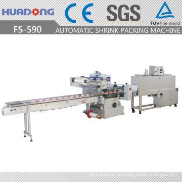 Máquina de embalaje retráctil de leche de flujo de alta velocidad