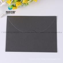 Wholesale Samll Luxury Black Invitation Card Envelope in China