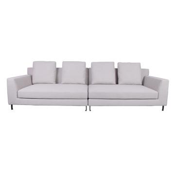 Conjunto de sofá modular de tela moderna