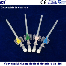Cánula IV Médica Desechable / Cateter IV Tipo de ala