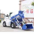 HENGWANG Heavy duty Self loading concrete mixer truck professional mini truck concrete mixer 2m3 price