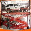 Used hydraulic scissor garage car jack high lift
