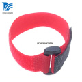 Nylon Reusable Hook Loop Cable Tie with Buckle
