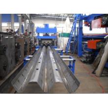 Máquina de fabricación de barandas para carretera Three Wave Highway