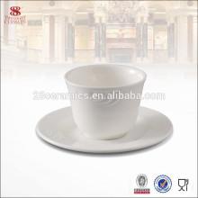 Костяного фарфора посуда чайные чашки и блюдца дешевые, чашка и блюдце набор
