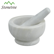 Marble Mortar and Pestle Stone Kitchenware Marble Spice Herb Grinder