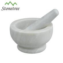 Utensílio de mármore do almofariz e da pedra do Kitchenware do mármore do Spice do Kitchenware