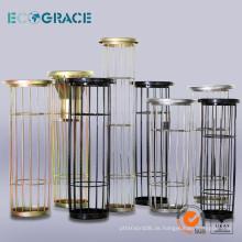 Mild Steel & Edelstahl Filtertasche Käfig