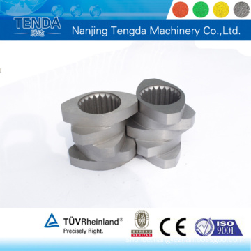 Screw Element Stainless Steel Material for Screw Extruder