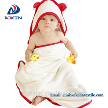 Custom logo 500gsm 100% organic bamboo baby hooded bath towel with ear Custom logo 500gsm 100% organic bamboo baby hooded bath towel with ear