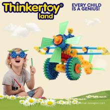 Plastic Educational DIY 3D Puzzle Toys