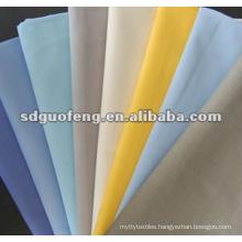 China Supplier Fabric Textile T/c 65/35 21x21 100x52 School Uniform Fabric