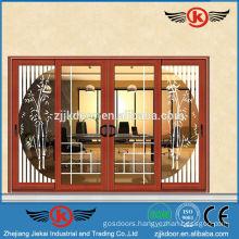 JK-AW9111 modern design sliding glass door safety door design