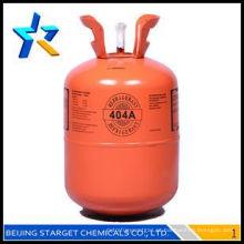 Refrigerante r404a gás com alta purtiy 99,9% à venda