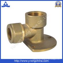 Encaixe de tubulação de cotovelo de bronze para a água, óleo (YD-6025)