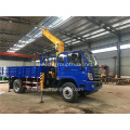 Foton 3900mm wheelbase chassis mounted truck crane
