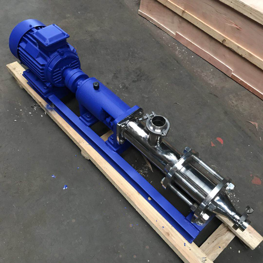 G type single screw pump 4