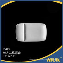 Mayoristas China especial de diseño fina placa de porcelana barata