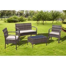 Komfortable Garten günstige Rattan Sessel Sofa Set