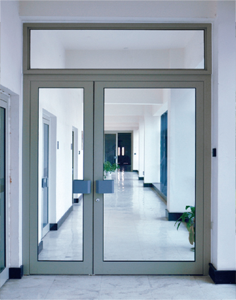 Ningbo GDoor Automatic Swing Doors with Access Control System