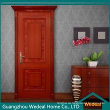 Piel de puerta de madera HDF en color blanco (WDHO70)